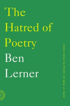 hatred of poetry